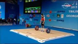 2015 European Weightlifting Championships Women