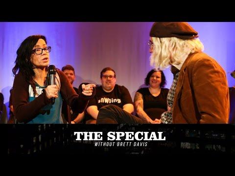 Janeane Garofalo talks to John Gentle on The Special Without Brett Davis