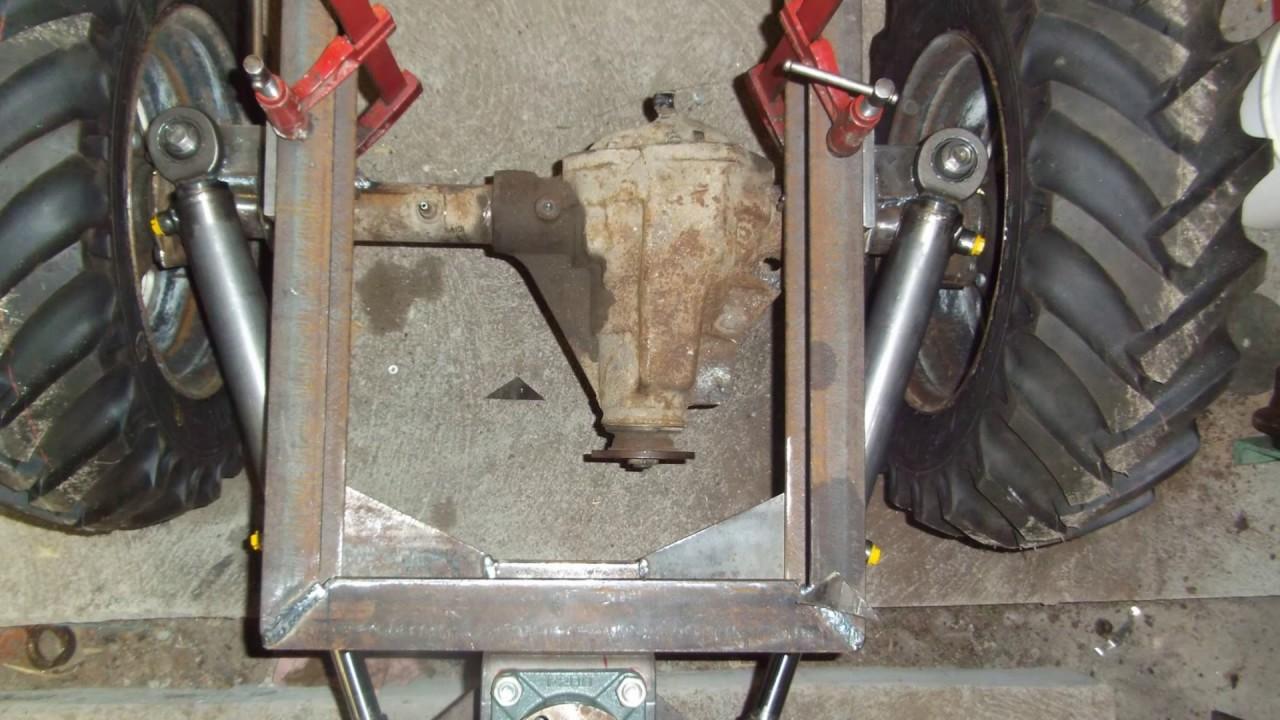 Construction D Un Tracteur Artisanal 1 Youtube