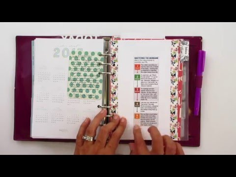 Using the Getting Things Done Method (GTD) in a planner