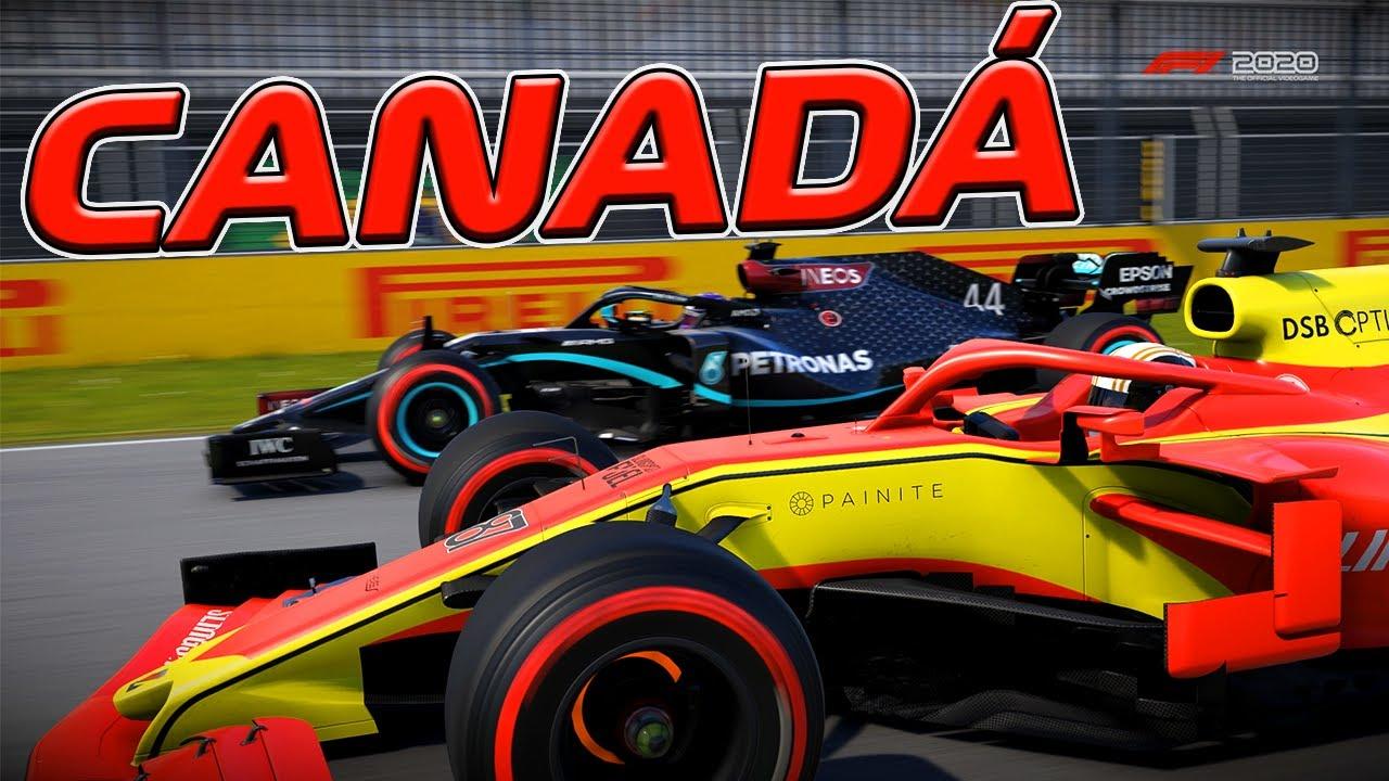 F1 2020 - MY TEAM - GP DO CANADÁ - SENDO FAVORECIDO PELO ERRO DA RED BULL - EP 32