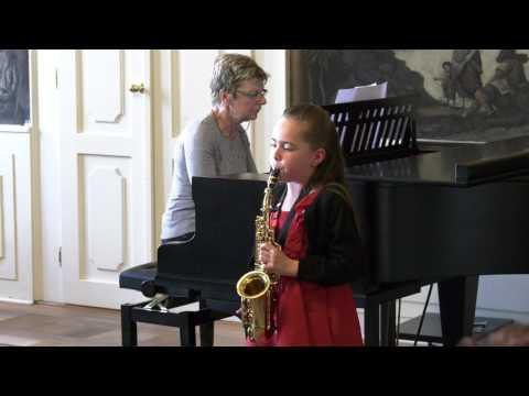 Koncert ZUŠ Nicole č. 19 saxofon 10.5.2017