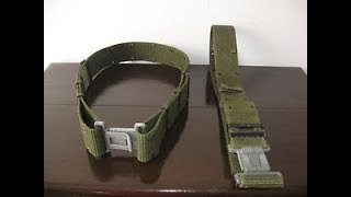 """""""You dont wanna miss this"""".Designing your own load belt,"""