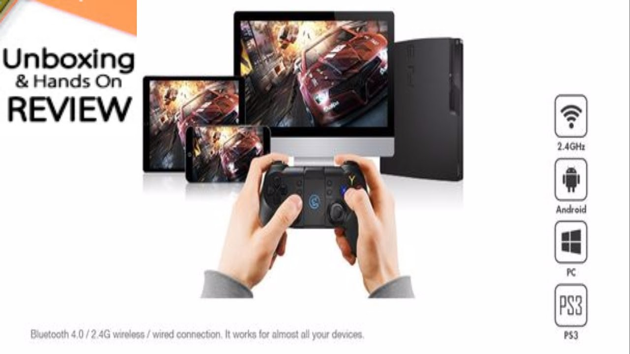 GameSir T1s 2.4GHz Wireless Bluetooth Controller Gamepad - Android ...