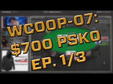 Makin Mulah, $700 WCOOP Knockout Tournament, HUGE CASH! - Ep. 1/3 - runitup.tv