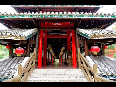 China, Shenzhen, Splendid China Folk Village (锦绣中华民俗村). Part 1.
