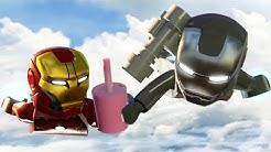 LEGO Marvel's Avengers The 'Full Movie'   All Cutscenes - Age of Ultron 【TRUE HD】