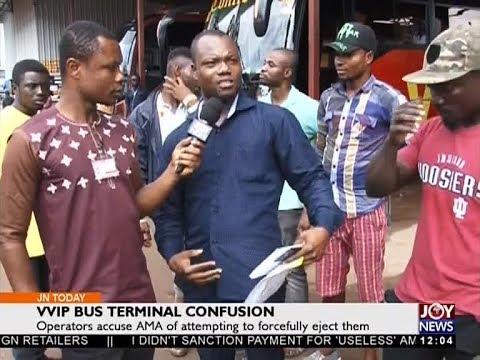 VVIP Bus Terminal Confusion - Joy News Today (20-9-17)