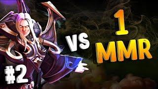 ИНВОКЕР VS 1 ММР В ДОТА 2 - INVOKER VS 1 MMR DOTA 2 #2