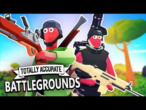 THE BEST BATTLE ROYALE! - Totally Accurate Battlegrounds