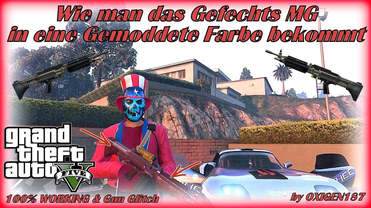 GTA 5 Online Wie man das Gefechte MG in eine Gemoddete