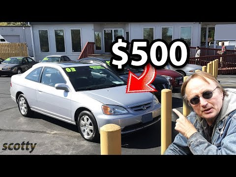 If You Only Have $500, These Are The Cheap Cars You Should Buy