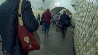 Переход Комсомольская Кольцевая линия - Комсомольская Сокольническая линия