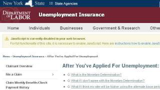 Can You Collect New York State Unemployment If You Are Self-Employed?