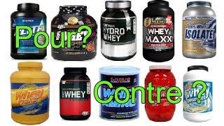 Protéines, Whey, caséine : indispensables ou inutiles?