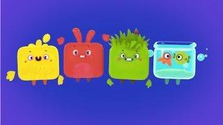 Четверо в кубе - Сборник мультиков - все серии подряд - современные российские мультики для детей