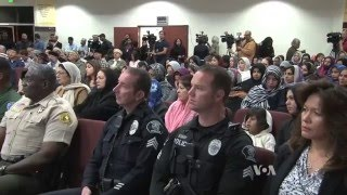 VOA: American Ahmadiyya Muslims hold prayer vigil for San Bernardino victims