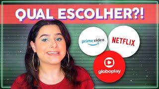 Qual MELHOR STREAMING de todos? Netflix, Prime Video e Globoplay: QUAL ESCOLHER? | Alice Aquino