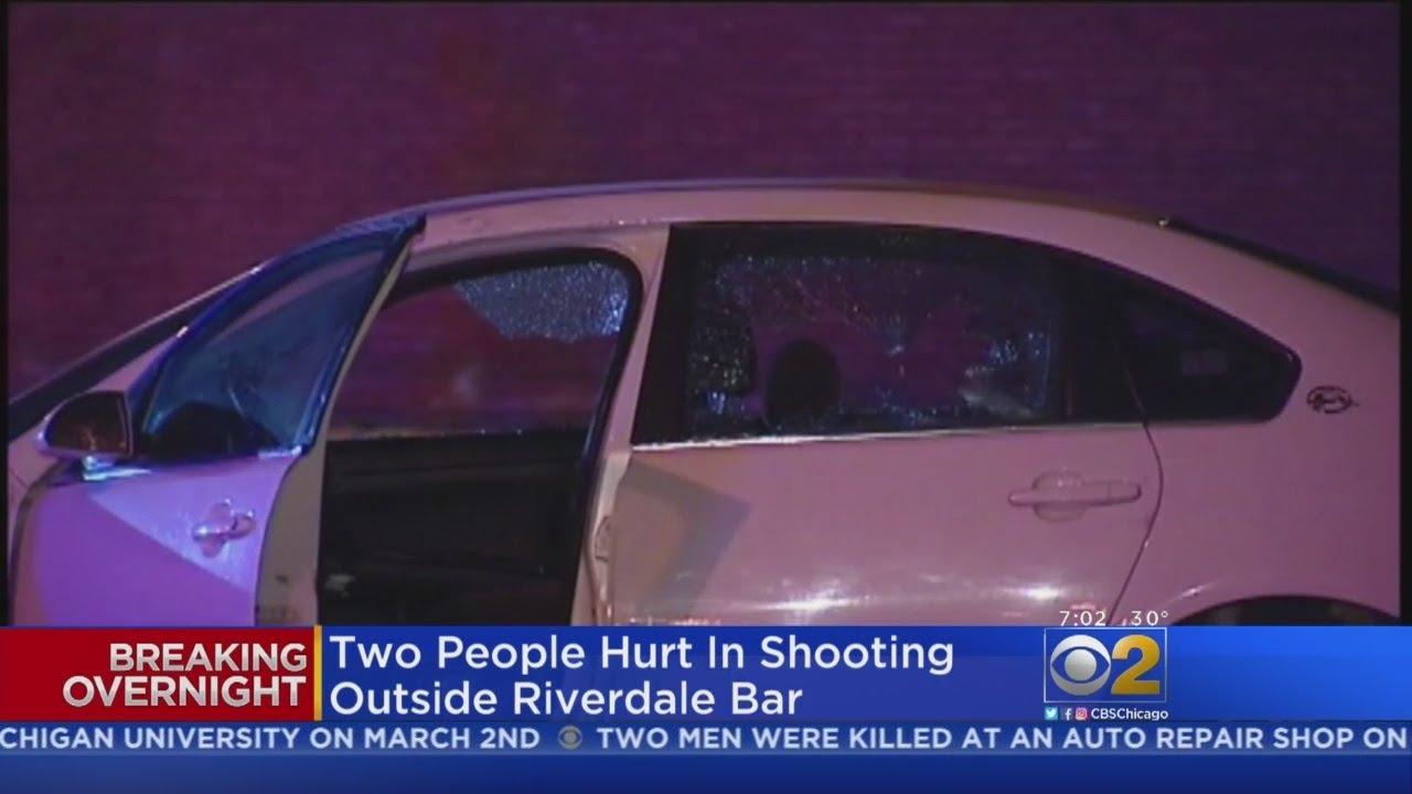 Two Hurt Outside Riverdale Bar