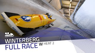 Winterberg | BMW IBSF World Cup 2020/2021 - Women's Bobsleigh Heat 2 | IBSF Official