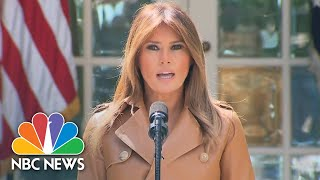 First Lady Melania Trump Unveils 'Be Best' Campaign On Child Well-Being | NBC News