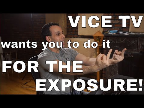 VTV/Viceland TV contract requests royalties/control over my PRE-EXISTING revenue streams? GTFO!