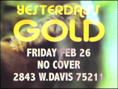 Yesterday's Gold: Karaoke Flyer