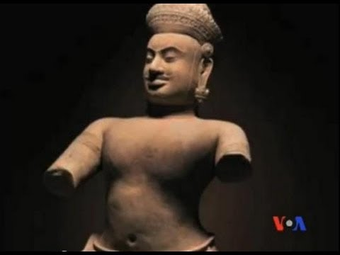 Campuchia muốn đòi lại các cổ vật