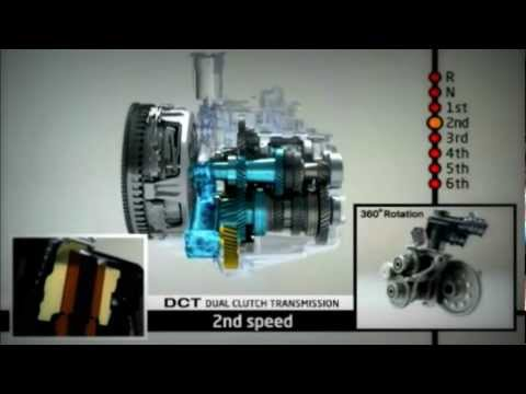 Inside A Double Clutch Transmission (DCT)