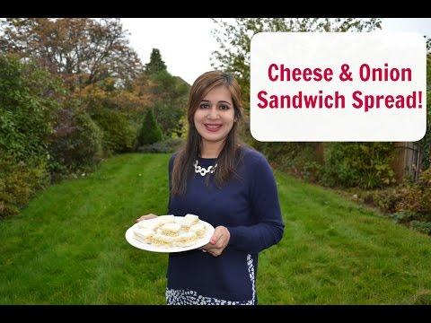 Cheese & Onion Sandwich Spread | Naf's Kitchen