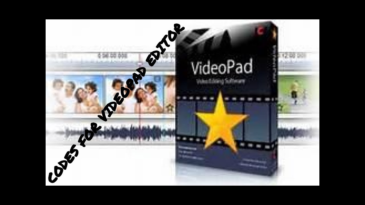 Codes For NCH VideoPad Video Editor! *FREE*