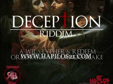 LYPHER FT REDEEM - GOD OF THE IMPOSSIBLE - DECEPTION RIDDIM -RB RECORDS - 21ST - HAPILOS GOSPEL