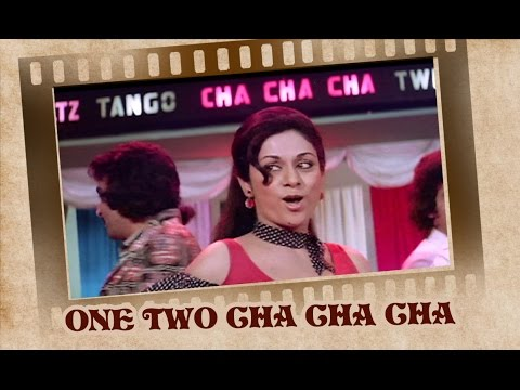 One Two Cha Cha Cha  Song  Shalimar  Aruna Irai  Usha Uthup