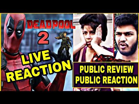 DEADPOOL 2 Public Reaction Live   DP2 Public Reaction Review