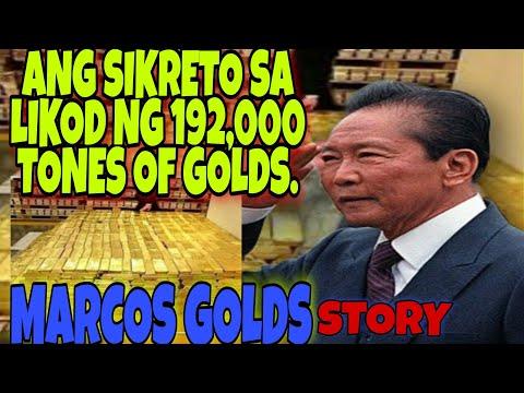 MARCOS GOLD- TRUE STORY|Pilipinas ang pinaka mayaman na bansa sa Buong mundo