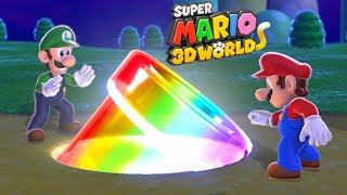 Super Mario 3D World - Full Game Walkthrough