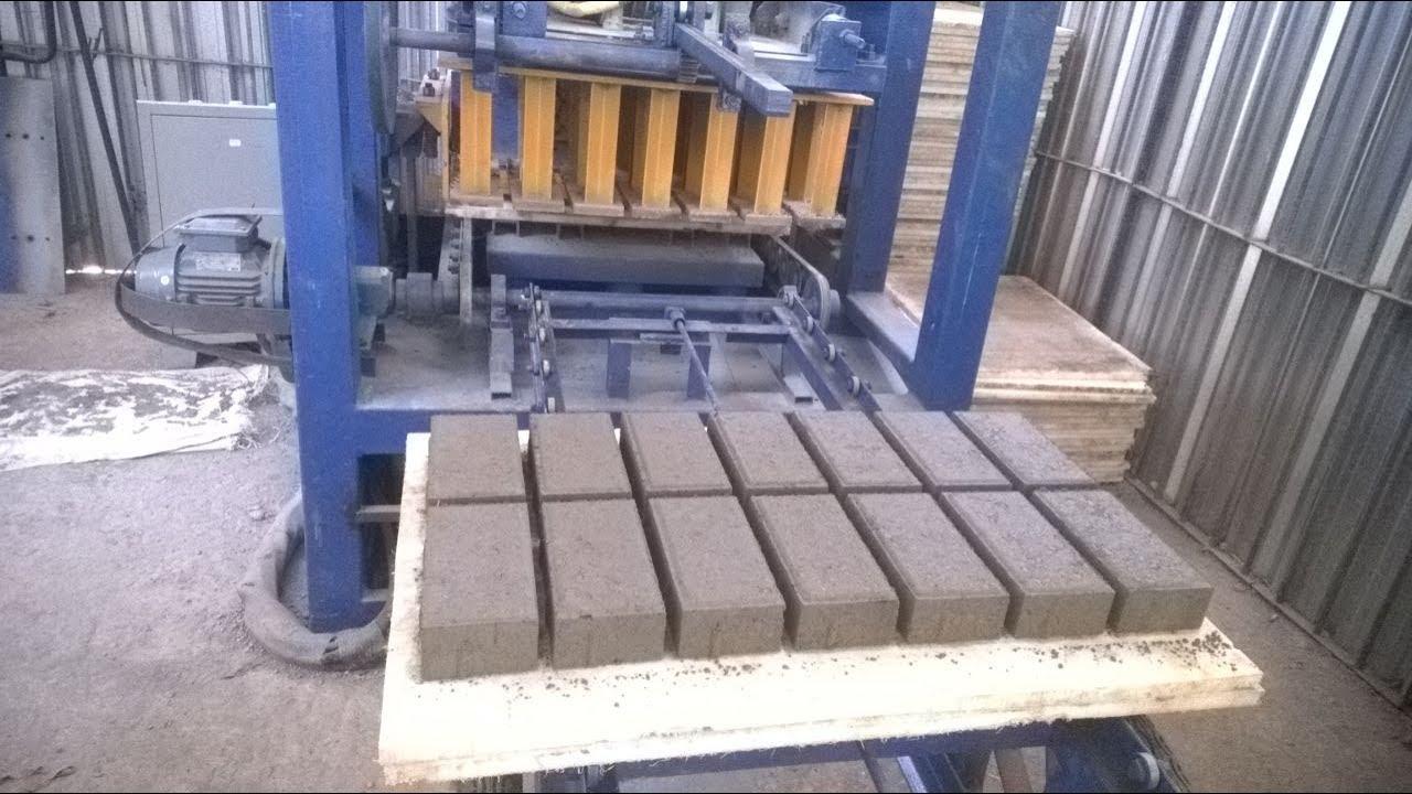 qt4 24 cabro paver block machine in nairobi kenya, cement