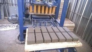 QT4 24 cabro paver block machine in Nairobi Kenya, cement interlocking brick making machine Nakuru