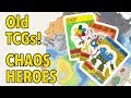 My Old TCGs 9: Chaos Heroes (Homemade Trading Card Game)