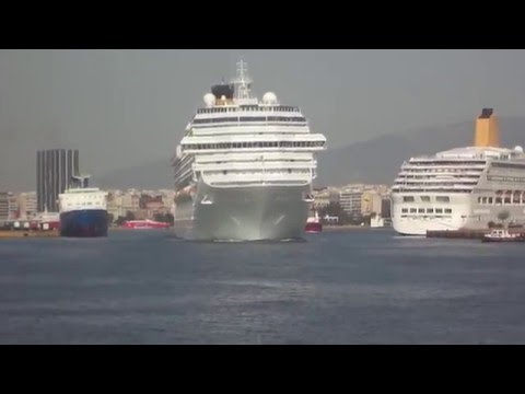 COSTA PACIFICA departure from Piraeus