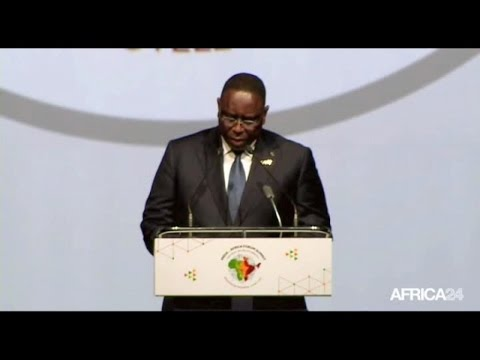 DISCOURS -  Macky SALL Lors Du Sommet Inde-Afrique à New Delhi (Inde)