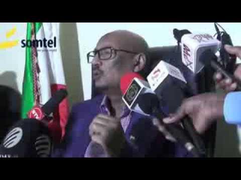 Faysal Cali Waraabe Oo Aflagaadeeyay Dowlada Somalia