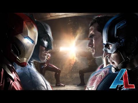 Marvel VS DC: Civil War Epic Fan Trailer
