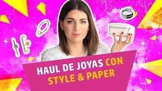 HAUL de JOYAS con Style and Paper | AliExpress en español