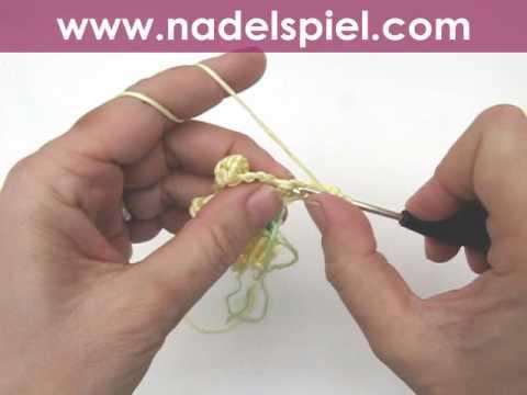 Häkeln Lernen Häkelblumen Für Babydecke Crochet Flower Baby