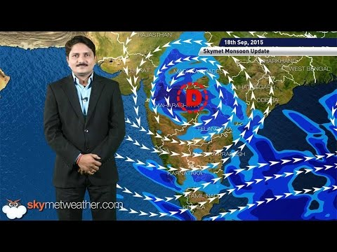 Weather Forecast for September 18, 2015 Skymet Weather HINDI