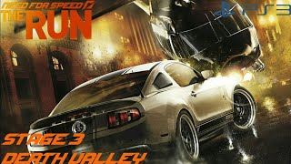 Need for Speed The Run (PS3) - Stage 3 [Death Valley]