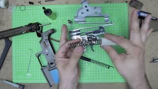 Desmontaje Marui HK416 Delta Custom PARTE 2