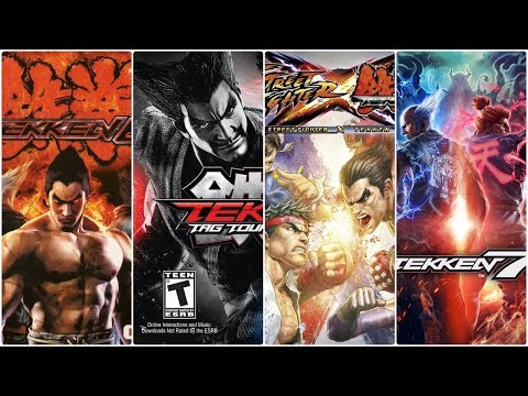 Tekken Xbox Evolution (2008-2015)