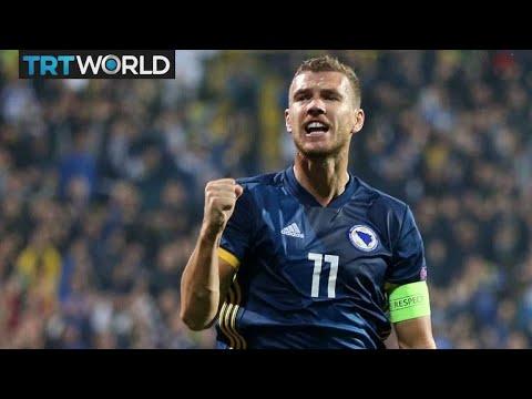 Bosnia and Herzegovina captain Edin Dzeko: Exclusive Interview